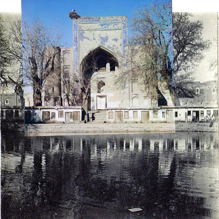 Duan-Beggi Medrese [Khanqah] (in Labikhauz). Bukhara