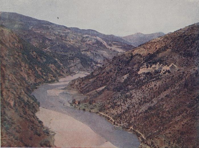 Çoruh river