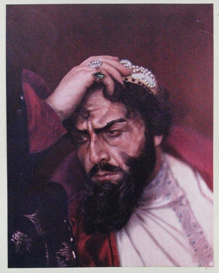 Chaliapin in the role of Boris Godunov
